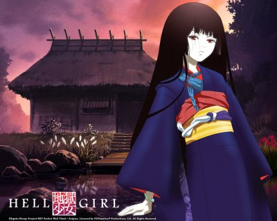 аниме - Hell Girl