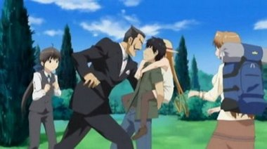 аниме - Ты - хозяин, я - слуга.