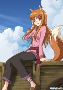 аниме - Spice and Wolf II