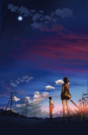аниме - Byousoku 5 Centimeter