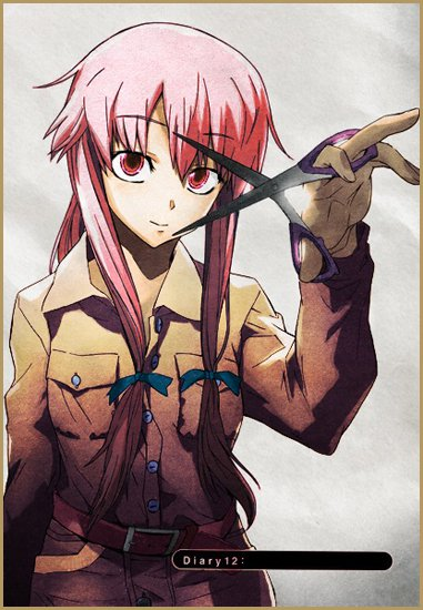 аниме - Mirai Nikki