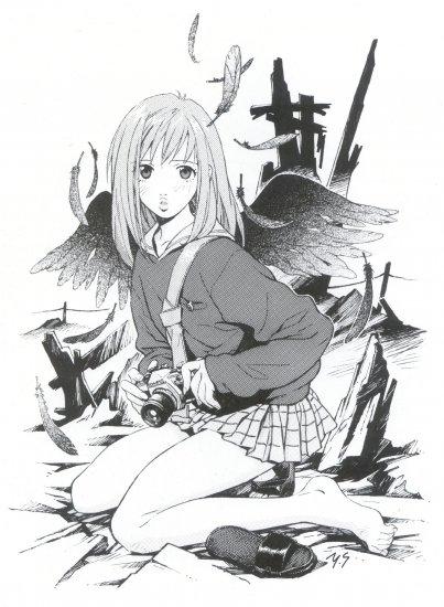 Аниме Арт - FLCL / Furi Kuri / Фури-Кури